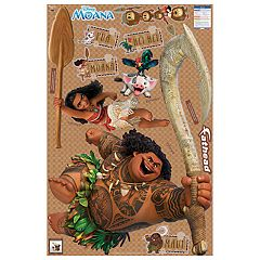 Disney's Moana Wall Decal Collection