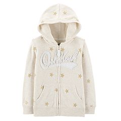 Toddler Girl OshKosh B'gosh® Glitter Star Hoodie