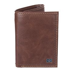 Men's Dockers® RFID-Blocking Trifold Wallet With Zipper Pocket