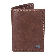 Men's Dockers® RFID-Blocking Trifold Wallet With Zipper Pocket