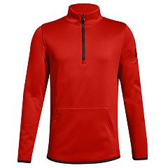 Boys 8-20 Under Armour Armour Fleece Half-Zip Top