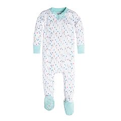 Burt's Bees Baby Organic This Way Arrow Footed Pajamas