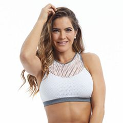 Marika Abby Mesh High Neck Medium-Impact Sports Bra MLB0393A