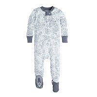 Baby Boy Burt's Bees Baby Organic Sheriff's Stars Footed Pajamas