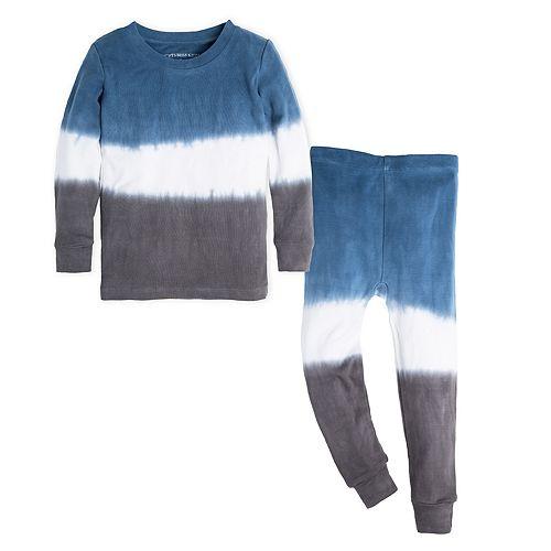 c90214536 Burt s Bees Baby Organic Dip Dye Top   Bottoms Pajama Set