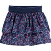 Toddler Girl OshKosh B'gosh® Ditsy Flower Tiered Ruffle Skirt