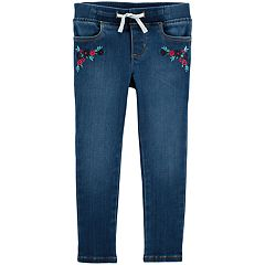 Toddler Girl OshKosh B'gosh® Floral Stretch Jeans