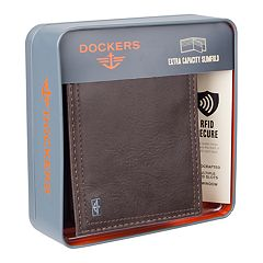 Men's Dockers® RFID-Blocking Extra Capacity Slimfold Wallet