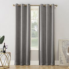 Decorative 2-Pack Lyra Embossed Floral Window Curtains