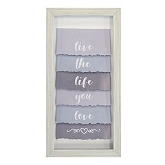 New View 'Life You Love' Wall Decor