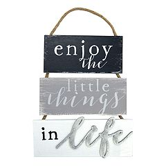 New View 'Enjoy The Little Things' Wall Decor