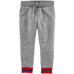 Toddler Boy OshKosh B'gosh® Striped Cuff Jogger Pants