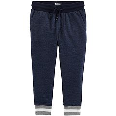 Toddler Boy OshKosh B'gosh® French Terry Striped Jogger Pants