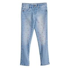 Girls 4-12 SONOMA Goods for Life™ Scatter Heart Jeggings
