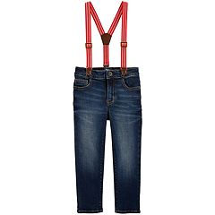 Toddler Boy OshKosh B'gosh® Suspender Jeans