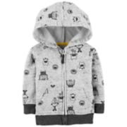 Baby Boy OshKosh B'gosh® Monster Zip Hoodie