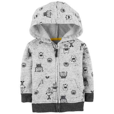 Baby Boy OshKosh B'gosh® Monster Zip Hoodie