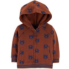 Baby Boy OshKosh B'gosh® Bears French Terry Zip Hoodie