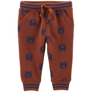 Baby Boy OshKosh B'gosh® All Over Bear Jogger Pants