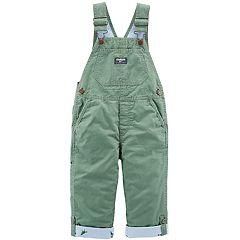 Baby Boy OshKosh B'gosh® Convertible Dinosaur Lined Overalls
