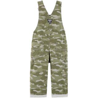 Baby Boy OshKosh B'gosh® Camouflaged Pork Chop Bib Overalls