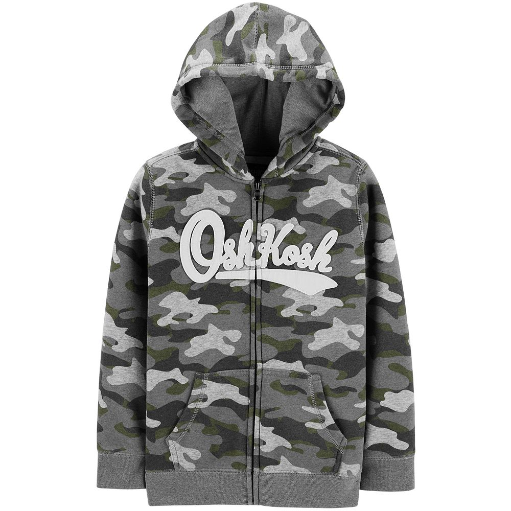 Toddler Boy OshKosh B'gosh® Heritage Camouflaged Zip Hoodie
