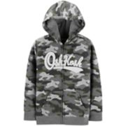 Toddler Boy OshKosh B'gosh® Heritage Camouflaged Zip Hoodie