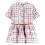 Baby Girl Carter's Plaid Henley Dress