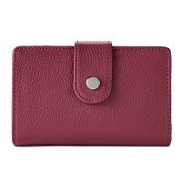 Apt. 9® Soho Leather RFID-Blocking Tab Indexer Wallet