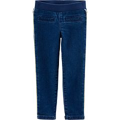 Baby Girl Carter's Piped-Trim Jeans