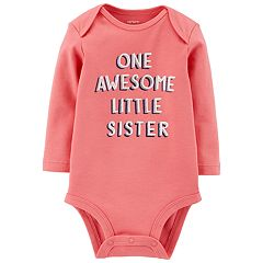 Baby Girl Carter's 'One Awesome Little Sister' Bodysuit