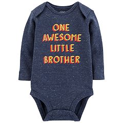 Baby Boy Carter's 'One Awesome Little Brother' Bodysuit