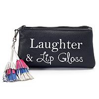 Candie's® Tassel Dual-Entry Coin Pouch