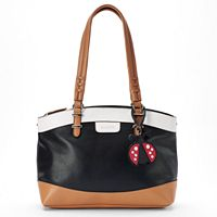 Rosetti Aimee Triple-Entry Satchel