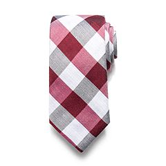 Men's Croft & Barrow® Patterned Linen-Blend Tie
