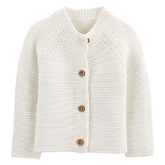 Baby Girl OshKosh B'gosh® Textured Cardigan Sweater