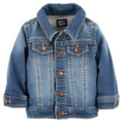 Baby Girl OshKosh B'gosh® Denim-Like Jacket
