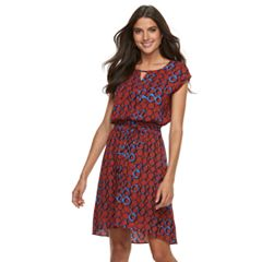 Women's Apt. 9® Smocked Blouson Dress