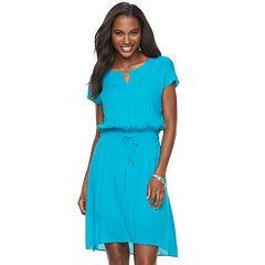 Women's Apt. 9® Smocked Blouson Dress