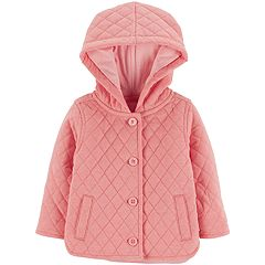 Baby Girl OshKosh B'gosh® Midweight Hooded Quilted Jacket