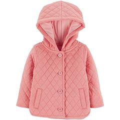Baby Girl OshKosh B'gosh® Midweight Hooded Quilted Jacket