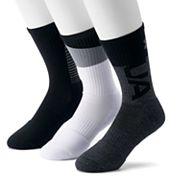 Men's Under Armour 3-pack Phenom 2.0 Crew Socks
