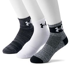 Men's Under Armour 3-pack Phenom Quarter Socks