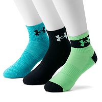 Men's Under Armour 3-pack Phenom Quarter Socks
