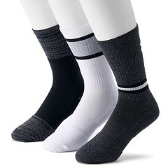 Men's Under Armour 3-pack Phenom 2.0 Twisted Crew Socks