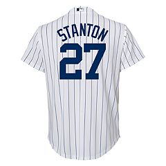 Boys 8-20 New York Yankees Giancarlo Stanton Cool Base Replica Jersey
