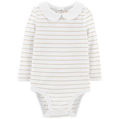 Baby Girl OshKosh B'gosh® Lurex Stripe Bodysuit