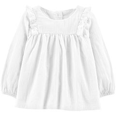 Baby Girl OshKosh B'gosh® Shirred Ruffle Top