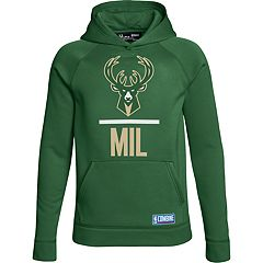 Boys 8-20 Under Armour Milwaukee Bucks Fleece Hoodie