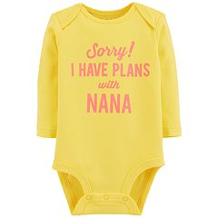 Baby Girl Carter's 'Sorry! I Have Plans With Nana' Bodysuit